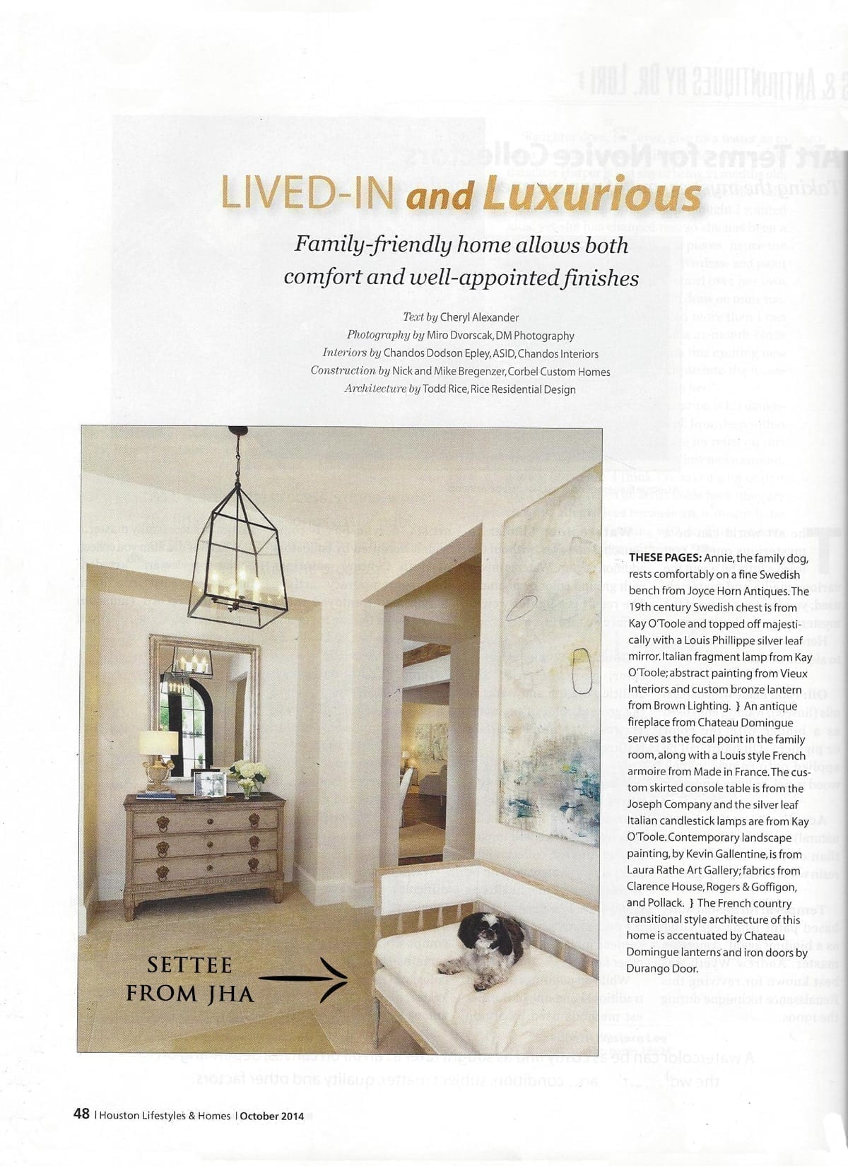 HOUSTON LIFESTYLES AND HOMES